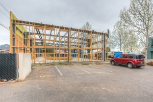 Holt Construction at 35 Bellarmine Ct - Early Phase 017 Side Exterior - Parking