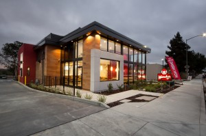 Wendy's San Ramon - Completed 001 Drive Thru Side Front Exterior