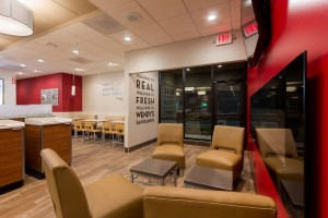 Wendy's San Ramon - Completed 006 Fireplace Lounge