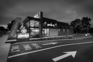 Wendy's San Ramon - Completed 022 Black and White